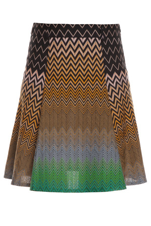 Missoni Women`s Zz Short Large Pleat Skirt #31 Boutique1