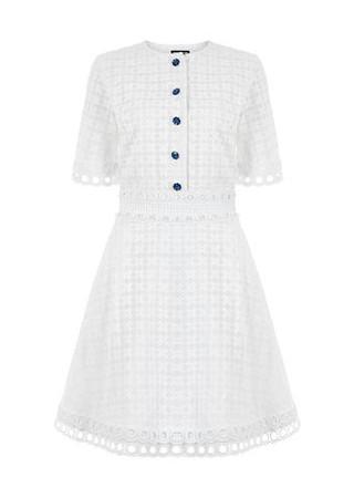 Broderie Tee Dress