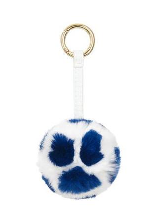 Furry Ball Charm/ White