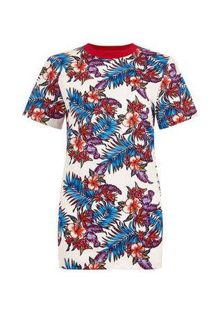 Paradise Flower Print T-Shirt