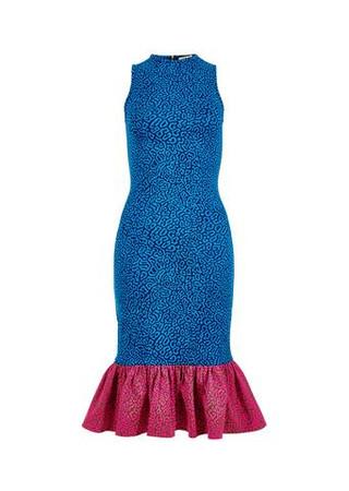 Pufferfish Frill Dress