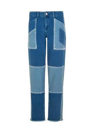 Whip Stitch Boyfriend Jeans