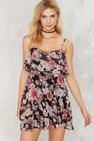 After Party by Nasty Gal Planet Bloom Floral Dress