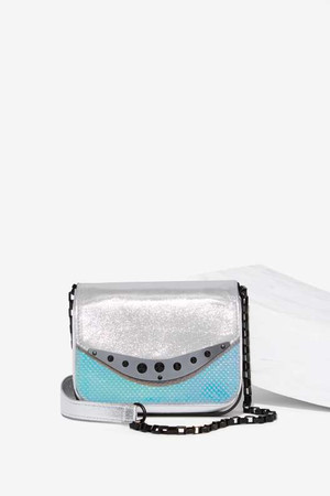 Circus by Sam Edelman Weston Crossbody Bag - Metallic