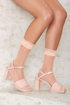 Have Your Frill Sheer Socks