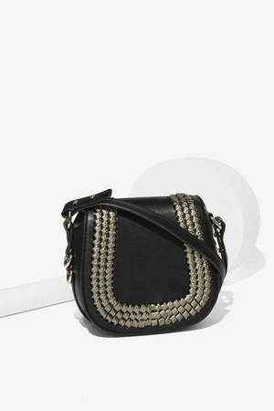 Home Stretch Saddle Crossbody Bag