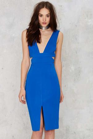 Lavish Alice Don't Tempt Me Cutout Dress