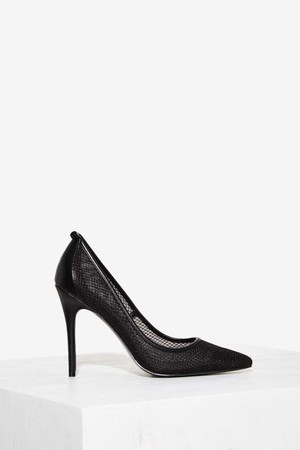 Love, Courtney by Nasty Gal Sunset Strip Stiletto Pump