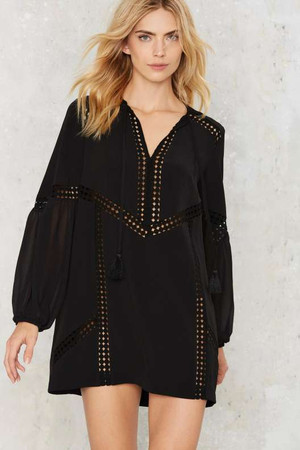 Nasty Gal After Dark Tunic Dress