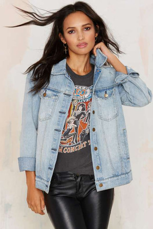 Nasty Gal Amira Denim Jacket