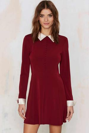 Nasty Gal Au Pair Mini Dress