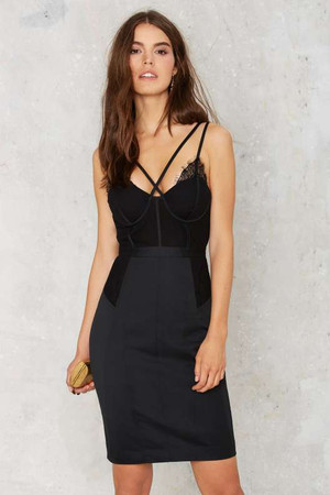 Nasty Gal Bust Out Lace Dress
