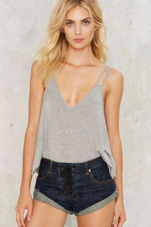 Nasty Gal Deep Down Tank