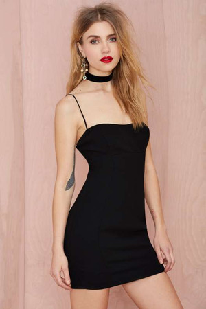 Nasty Gal My Generation Crepe Dress