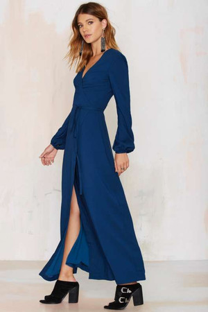 Nasty Gal New Attitude Wrap Dress
