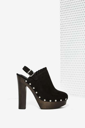Nasty Gal Stomping Ground Platform Clog
