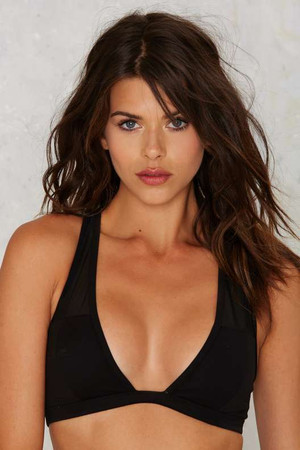 Nasty Gal Tough Cookie Mesh Bra