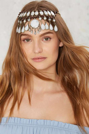 Rock N Rose Evangeline Jade Head Piece