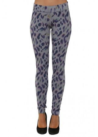 Molly Marbs Leopard Print Pearl Leggings