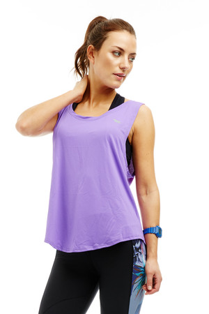 Studio Workout Muscle Top (Purple)