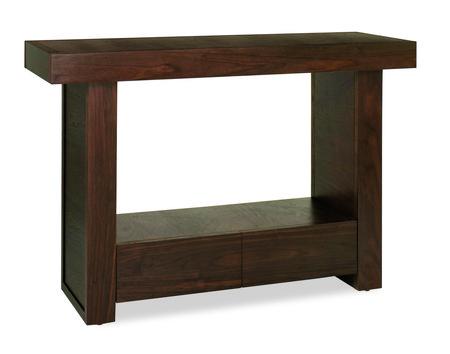 Akita Walnut Console Table