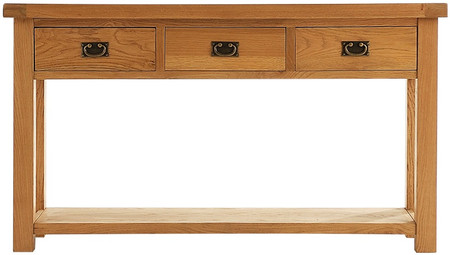 Alton Oak Large Console Table