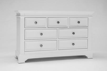 Buxton Painted 3 over 4 Chest of Drawers