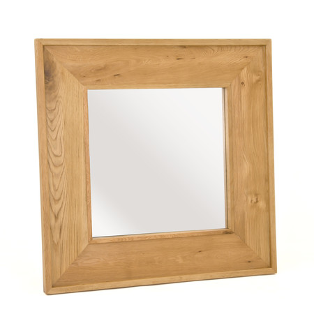 Chiltern Grand Oak Square Mirror