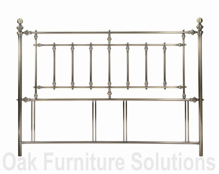 Imperial Antique Brass Headboard - Multiple Sizes (180cm - Super King Size)