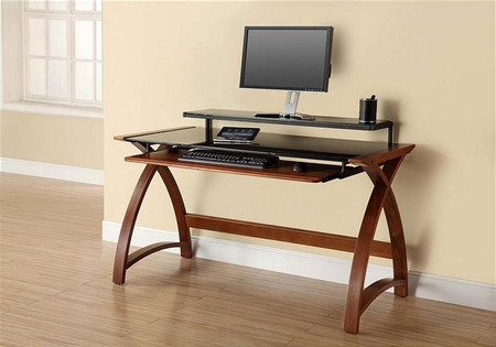 Jual Curve Walnut 1300 Desk PC201