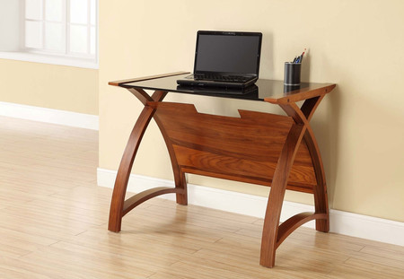 Jual Curve Walnut 900 Laptop Table PC201
