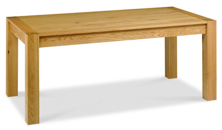 Lyon Oak End Extension Dining Table - 180-220cm