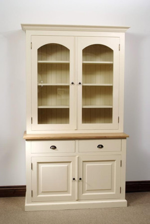 Mottisfont Painted Colchester Dresser (Cream, Oak, Wooden)
