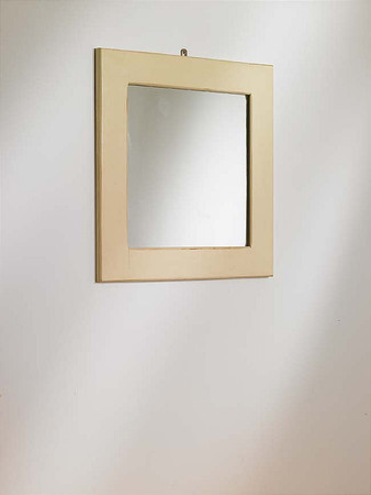 Mottisfont Painted Mirror Square 680 x 680mm (Blue)