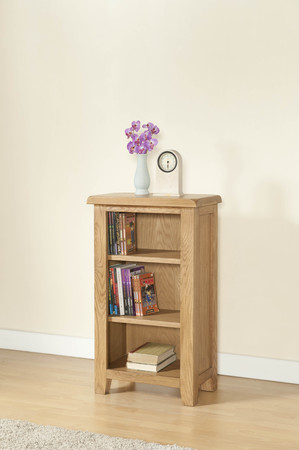 Shrewsbury Oak Small Bookcase