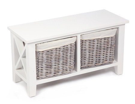 Winchester 2 Basket Horizontal 'X' Cabinet with Cotton Linings