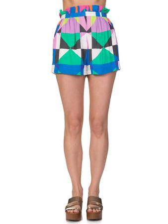 Mara Hoffman Multicoloured Patterned Shorts - Size 12