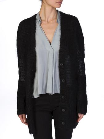 Michael Kors Black Cardigan - Size 8