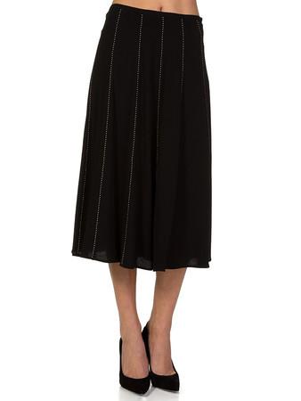 Michael Kors Black Studded Skirt - Size 8
