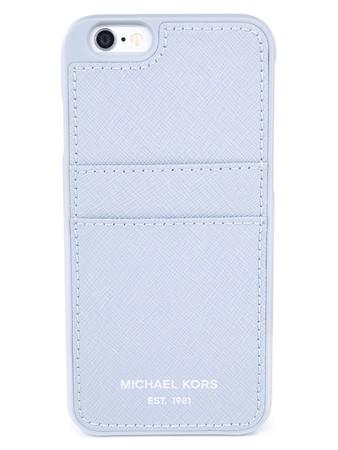Michael Kors Blue Saffiano iPhone 6/6S Phone Case  - Size 1Sze