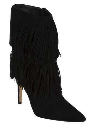 Sam Edelman Black Belinda Suede Shoes - Size 3