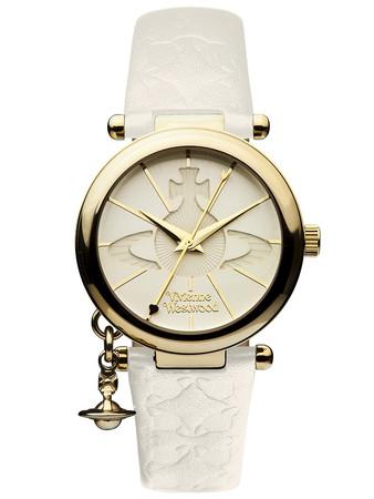 Vivienne Westwood Cream Orb II Watch - Size 1Sze