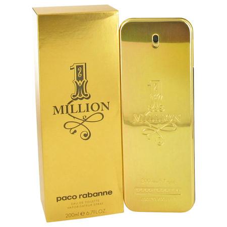 1 Million Cologne by Paco Rabanne, 200 ml Eau De Toilette Spray for Men