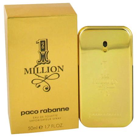 1 Million Cologne by Paco Rabanne, 50 ml Eau De Toilette Spray for Men