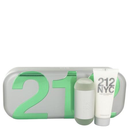 212 Gift Set by Carolina Herrera Gift Set for Women Includes 2 oz Eau De Toilette Spray + 3.4 oz Body Lotion