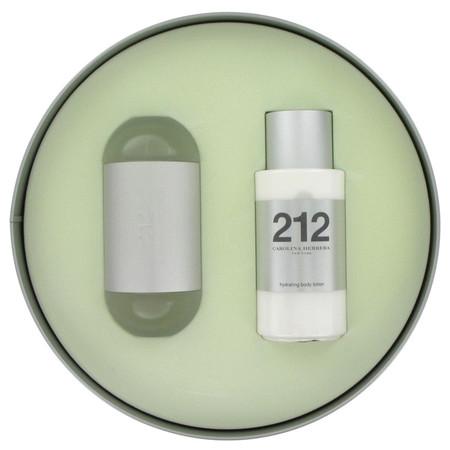 212 Gift Set by Carolina Herrera Gift Set for Women Includes 3.4 oz Eau De Toilette Spray + 3.4 oz Body Lotion