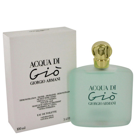 Acqua Di Gio Perfume by Giorgio Armani, 100 ml Eau De Toilette Spray (Tester) for Women