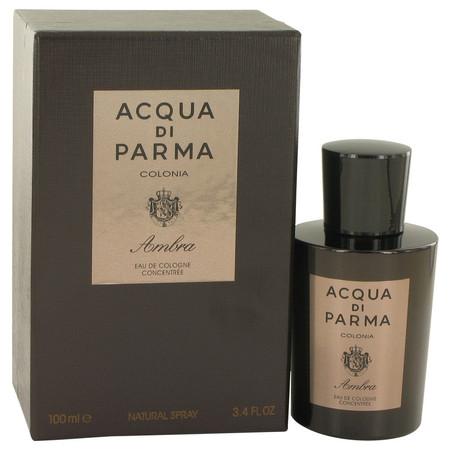 Acqua Di Parma Colonia Ambra Cologne by Acqua Di Parma, 100 ml Eau De Cologne Concentrate Spray for Men