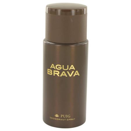 Agua Brava Deodorant by Antonio Puig, 150 ml Deodorant Spray for Men