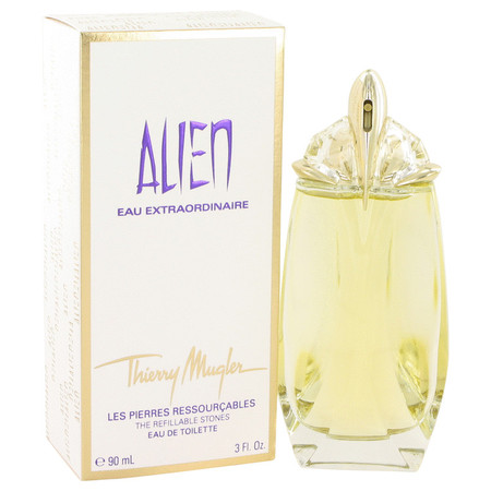 Alien Eau Extraordinaire Perfume by Thierry Mugler, 90 ml Eau De Toilette Spray Refillable for Women